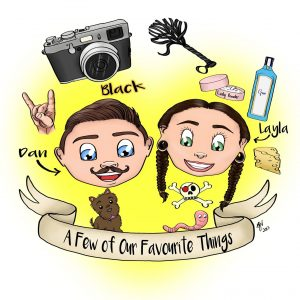 Favourite Things - Amy Newlands Creative Cartoons