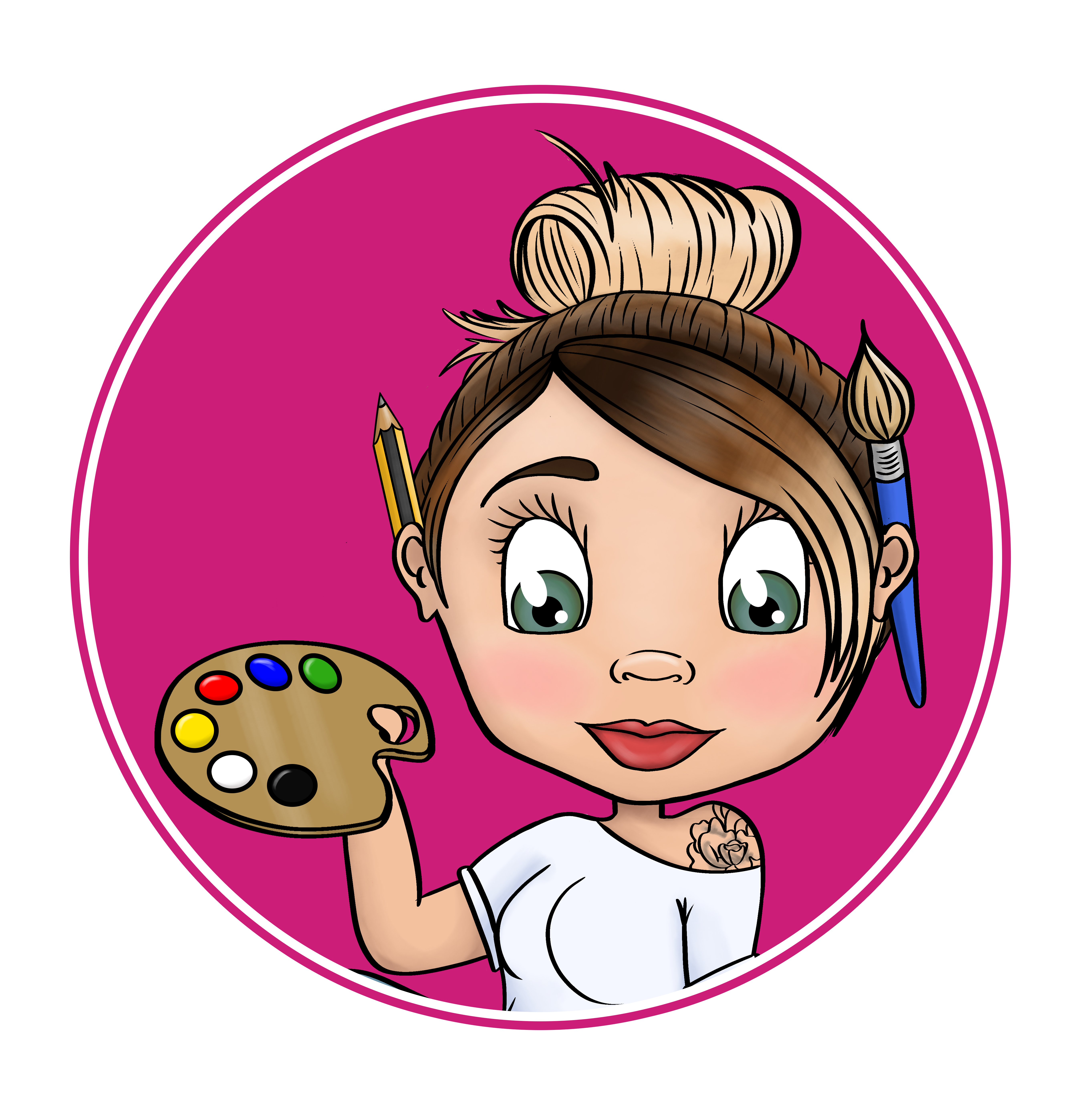 Amy Newlands Creative Cartoons Website Icon